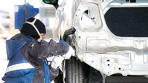 自動車整備(鈑金・修理・塗装)