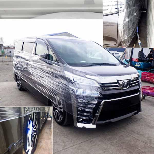 New-vehicle vanning