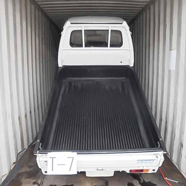 Seven-light-truck-in a pile